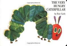 The Very Hungry Caterpillar by Eric Carle: A well loved classic. #Books #Kids #Eric_Carle #The-Very_Hungry_Caterpillar