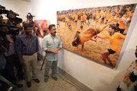 TOTAL CHENNAI NEWS: Jallikattu (Veera Vilayattu) Photo Exhibition Open...