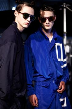 Christopher Shannon SS15 Backstage! - Fucking Young!