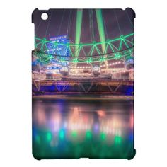 The London Eye on St. Patrick's Day Case For The iPad Mini