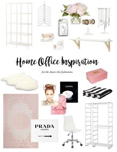 Office Inspiration | DIY chic and classic.