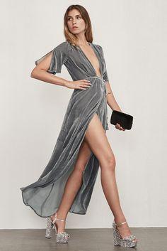 Reformation // Cocktail // Bordeaux Dress