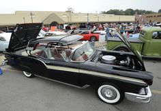 A 1957 Ford Skyliner owned by Ray Southard of Cape Girardeau at the River Tales Classic Car Show Sunday, Sept. 18, 2011 in Cape Girardeau, Missouri