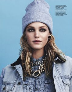 @Who What Wear - Eclectic Denim On Denim Looks As Seen In ELLE France