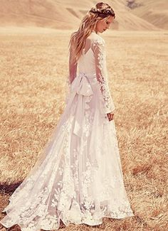 Introducing Free People's first-ever bridal collection of once-in-a-lifetime wedding dresses