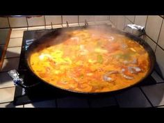 Paella maison - YouTube