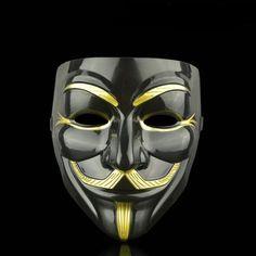 8 X V For Vendetta Mask Guy Fawkes Anonymous Halloween Masks Fancy Dress Costume V Comme Vendetta, V For Vendetta Comic, V For Vendetta Face, V Pour Vendetta, Masque Anonymous, Anonymous Maske, Masque Halloween, Halloween Face Mask, Halloween Party Costumes