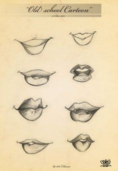 Page 35 mouths by celaoxxx. Sketch / Drawing Illustrations Inspirat… Page 35 mouths by celaoxxx. Drawing Techniques, Drawing Tutorials, Drawing Tips, Drawing Reference, Art Tutorials, Drawing Sketches, Painting & Drawing, Sketching, Design Reference