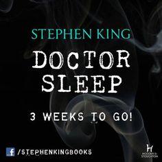 #DoctorSleep 3 weeks to go !  via @Holly Elkins Lepley & Stoughton