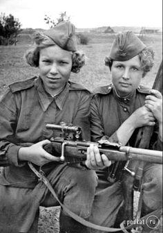 Снайперы. 1944 г.