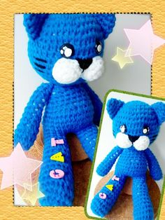 Crochet cat doll (featured on Etsy)