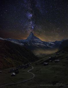 A night in Zermatt by Daniel Metz on 500px