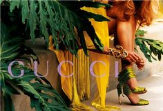 Loved this ad!   Gucci S/S 2004