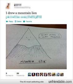 Mountain Lion/Mountain Lyin'