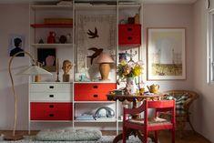 scandinavian interior design Scandinavian Interior Design, Interior Design Inspiration, Danish, Portal, Off White, Things To Come, Shelves, Bed, Furniture