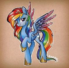 Equestria Daily - My Little Pony News and Brony Stuff! : Drawfriend Stuff - BEST OF RAINBOW DASH ART Edtion (Part 2)