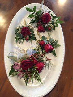 Floral Arrangements, Floral Design, Table Decorations, Winter, Christmas, Home Decor, Winter Time, Xmas, Decoration Home
