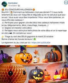 Halloween Centrakor jeu concours Halloween, Pageants, Spooky Halloween