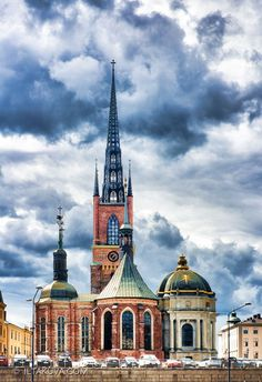 The Riddarholmen Church, Stockholm, Sweden