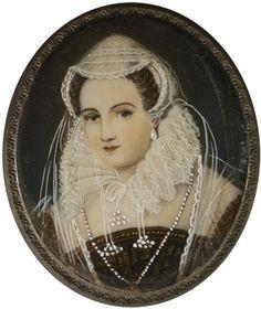 Escuela centroeuropea, siglo XIX. Retrato de dama.