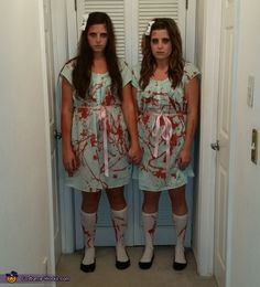 The Grady Twins from The Shining Costume