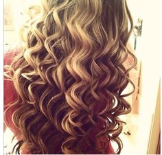 A cute way to do your hair! It is like curling it but you uses the wand. You could bye the wand at any hair store.