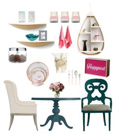 """""""Need Smyrna Beach  kitchen"""" by modern-glam-designs on Polyvore featuring interior, interiors, interior design, home, home decor, interior decorating, Stanley Furniture, Bernhardt, Winward and Wedgwood"""