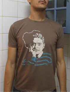 738d4a1852 Camiseta Masculina Chico Buarque www.elo7.com.br dixiearte