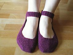 Ravelry: Comfort Slippers - for Japan - pattern by Reiko Arato
