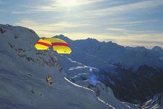 Paragleiten am Arlberg - Wo die Freiheit grenzenlos ist
