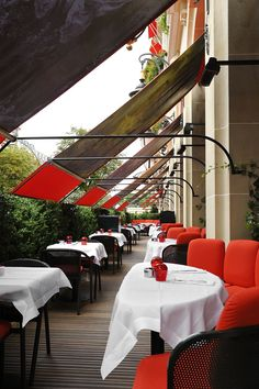 Lunch in style at the Terrasse Montaigne!