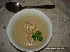 Krem juha od šampinjona i suhih vrganja — Coolinarika Soup, Ethnic Recipes, Soups, Chowder
