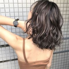 103 trendy brown hair color ideas you can try brown hair colors, brown hair with… - All For Hair Color Balayage Bronde Hair, Hair Color Balayage, Ombre Hair, Short Dyed Hair, Short Hair Cuts, Dyed Hair Brown, Medium Hair Styles, Curly Hair Styles, Lila Make-up