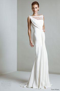 Bianca wedding dress.