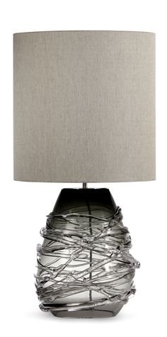 Designer Art Glass Charcoal Lamp, sharing luxury designer home decor inspirations and ideas for beautiful living rooms, dinning rooms,     bedrooms  bathrooms inc furniture, chandeliers, table lamps, mirrors, art, vases, trays, pillows      accessories courtesy of InStyle Decor Beverly Hills enjoy  happy pinning