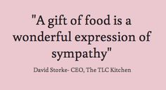 Food feeds the heart, the soul and the stomach!