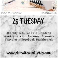 A little late today but $2 Tuesday is now live check the section for deals  #erincondrenstickers #erincondrenverticallayout #eclp #weloveec #llamalove #pgw #plannergirl #planneraddict #plannercommunity #plannerstickers  #Planner #planning #planners #plannerstickers #agenda #plannerdecor #plannernerd #plannerlove #planneraddict  #eclp #plannerclips #plannerclipaddict #etsy  #travelersnotebook #tn #pockettravelersnotebook #kikkik #katespade #personalplanners #filofax #colorcrush…