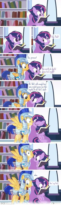 Comic Block: EfCE 13 (The Crystal Flash) by dm29 on DeviantArt