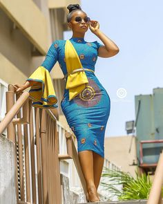 The complete pictures of latest ankara short gown styles of 2018 you've been searching for. These short ankara gown styles of 2018 are beautiful Unique Ankara Styles, Ankara Short Gown Styles, Short Gowns, Ankara Gowns, Kente Styles, African Print Dresses, African Fashion Dresses, Ankara Fashion, African Prints