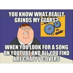 Grinds my gears. Family guy