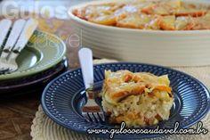 Que tal fazer esta deliciosa Lasanha de Arroz com Abobrinha para o #jantar, é fácil, rápida, leve e saudável.  #Receita aqui: http://www.gulosoesaudavel.com.br/2015/08/28/lasanha-arroz-com-abobrinha/
