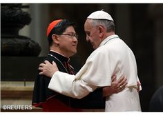 "Cardinal Tagle: ""The Pope's visit, a blessing that invokes responsibility."""