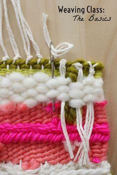 Weaving Tutorial   Woven Wall Hanging by @elsiecake