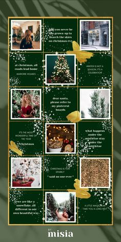 Instagram Grid, Free Instagram, Instagram Posts, Insta Layout, Grid Design, Graphic Design, Web Design, Christmas Campaign, Instagram Christmas