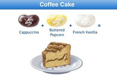 Coffee Cake Jelly Belly Flavor Recipe Jelly Belly Flavors, Jelly Belly Beans, Jelly Beans, Bean Recipes, Candy Recipes, Yummy Recipes, Combo Recipe, Food Plus, Ice Cream Cookies