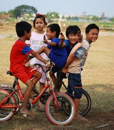 Jakarta - Kids on their bikes
