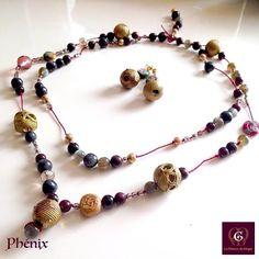 Handmade Jewelry created at La Maison de Ginger Www.lamaisondeginger.com #bijouxfantaisie #bijouxfaitsmain #bijouxfemme #bijouxmania #handmadejewelry #handmadecrafts #artjewelry #artisticjewelry #statementjewelry #bijouxartisanaux #boutiqueenligne  #onlineshop#bijouxartisanaux #boutiqueenligne  #bijouxcreateur #onlineshop#instajewelry #arttowear #unique #uniquejewelry #arttowearaccessories #beauty #glassart #gemstonejewelry #gemstones #bijouxfemme #bijouxfantaisie #etsy #newcollection… Jewelry Art, Jewelry Design, Beaded Necklace, Beaded Bracelets, Feminine Style, Statement Jewelry, Handmade Jewelry, Unique, Artist