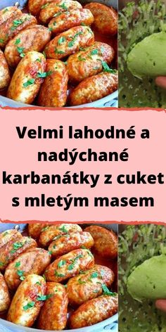 Easy Homemade Recipes, Healthy Recipes, Food 52, Starters, Chicken Wings, A Table, Zucchini, Sausage, Food And Drink