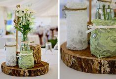 Lovely table decorations. My fav so far.