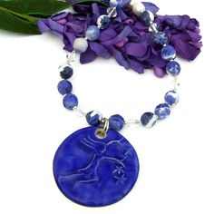 Handmade Bracelets, Handmade Jewelry, Handmade Gifts, Star Pendant, Pendant Necklace, Ceramic Pendant, Unique Necklaces, Mother Day Gifts, Artisan Jewelry